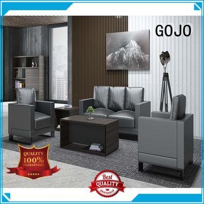 GOJO binz leather sofa set manufacturer for lounge area