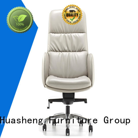 symbol luxury executive chair with aluminium alloy feet for boardroom