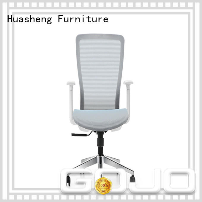 fabric mesh office chair fabric for conference area GOJO