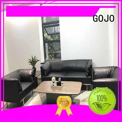GOJO reche leather furniture set supplier for guest room