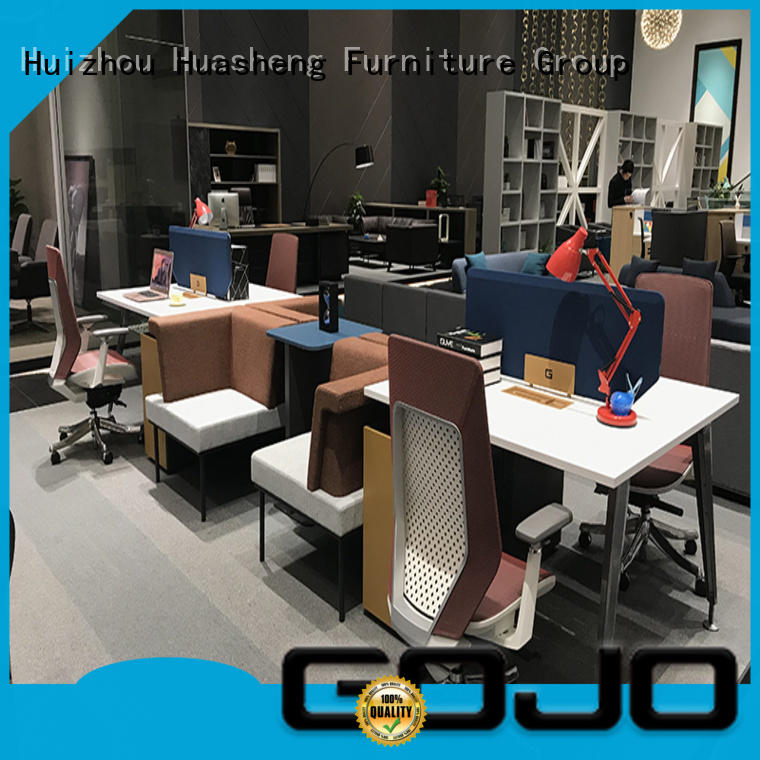 GOJO home office computer workstation factory for clerk area