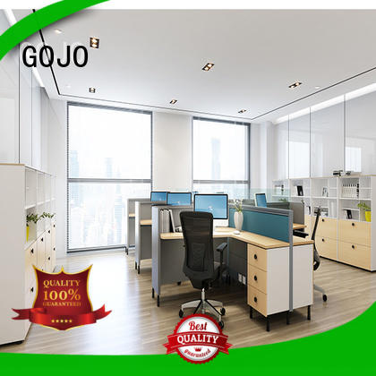GOJO high quality office dividers with grade mfc board for staff room
