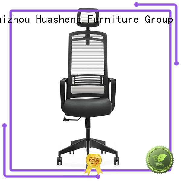 GOJO binz mesh executive chair with lumbar support for boardroom