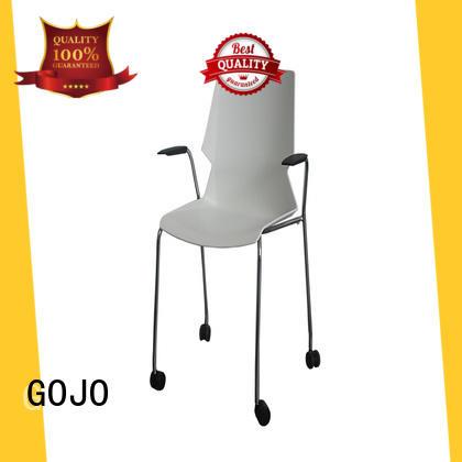 GOJO swivel lounge chair sofa stool for reception area