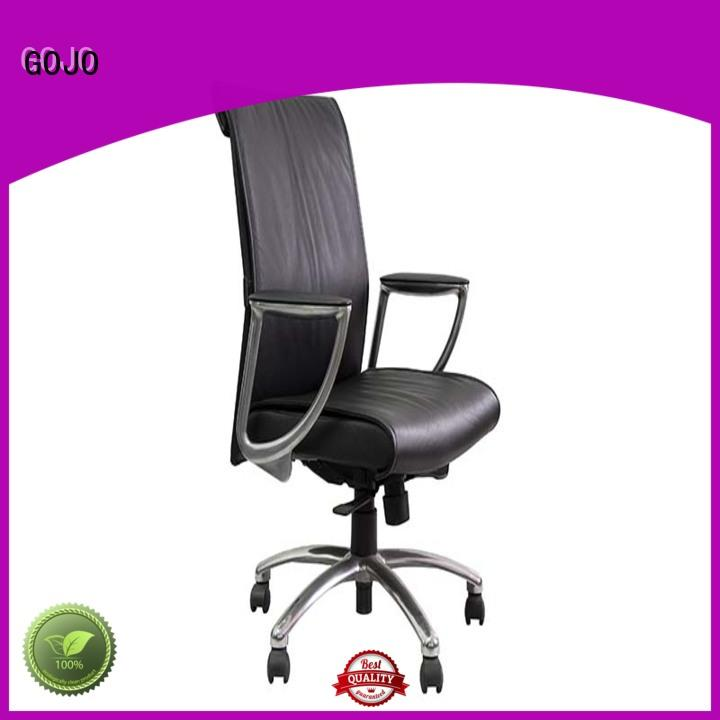high back executive office chair with lumbar support for boardroom GOJO