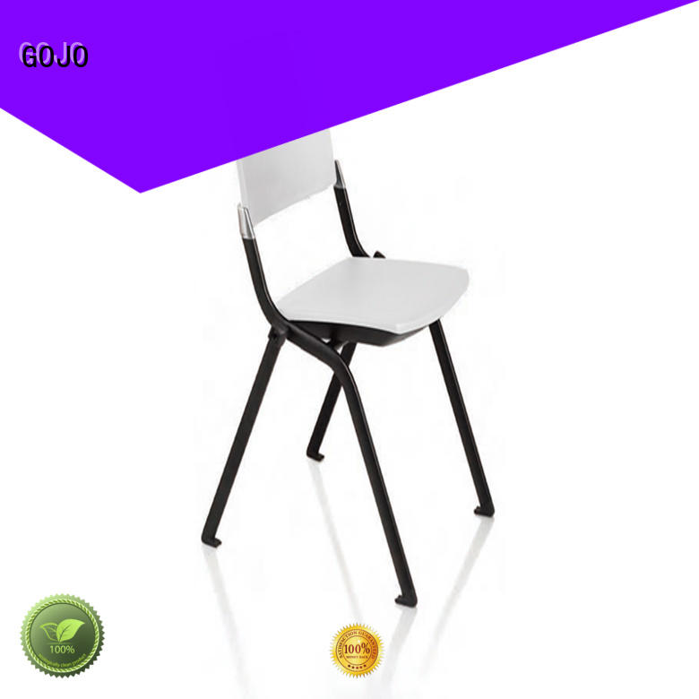GOJO training leather office chair with casters for training area