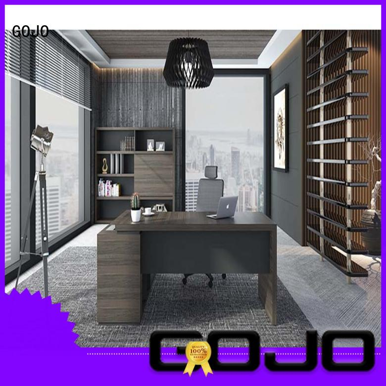 GOJO much black executive desk wholesale for executive office