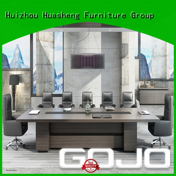 GOJO conference room tables with double-deck mesa for conference room