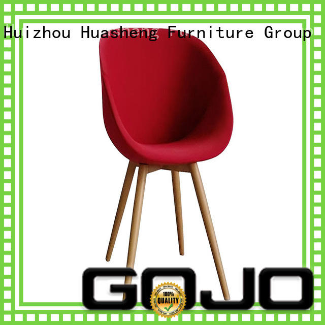 GOJO office lounge chair with casters for lounge area