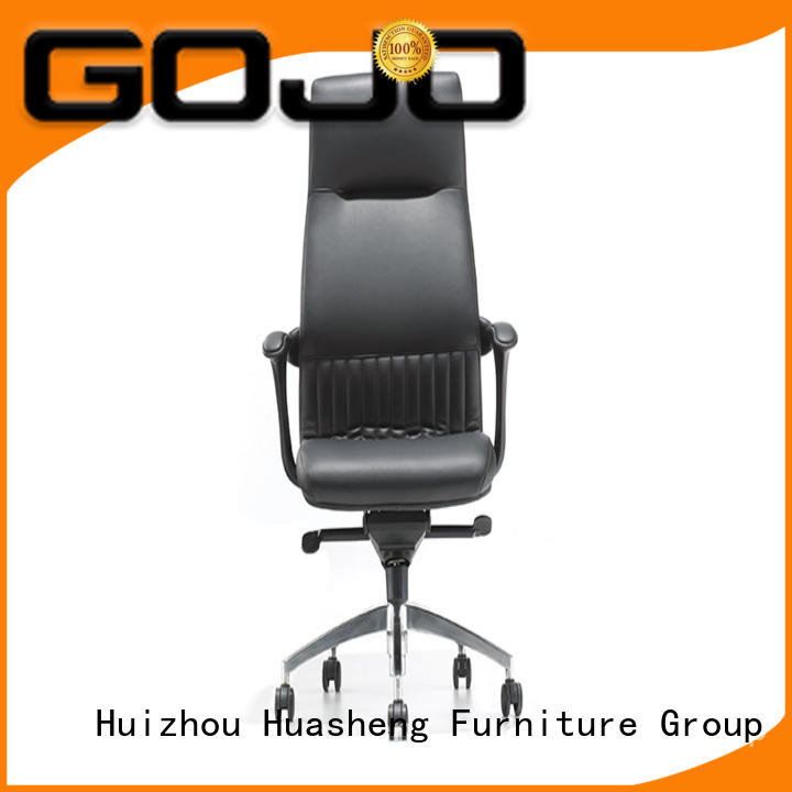 GOJO ergonomic office chair with five-star movable foot for boardroom