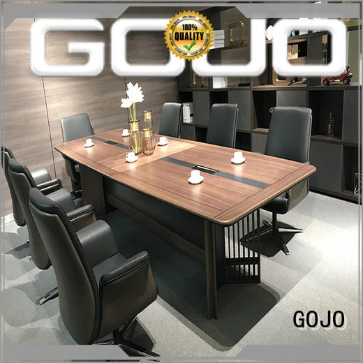 GOJO borill small conference room table for boardroom
