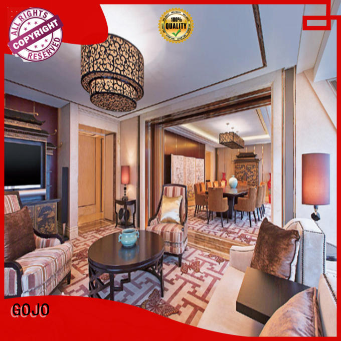 GOJO quality contemporary hotel furniture factory for apartment