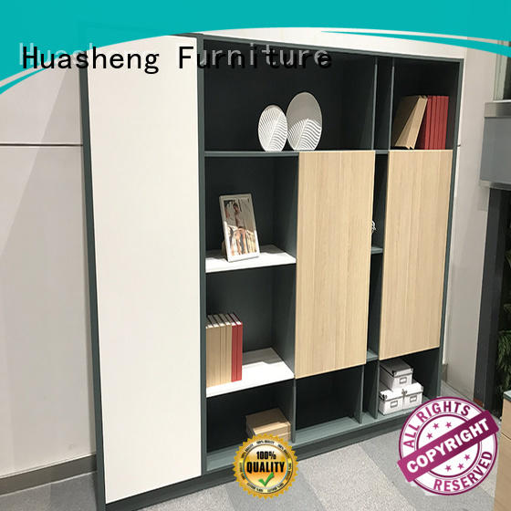 GOJO decorative room divider bookcase with door for executive office