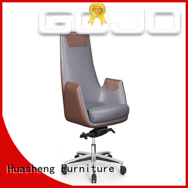 leather office executive chair price mesh fabric for ceo office GOJO
