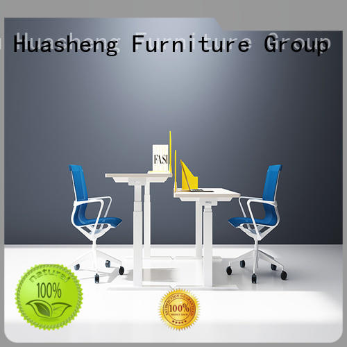 GOJO ultra adjustable table with receiving box for staff room