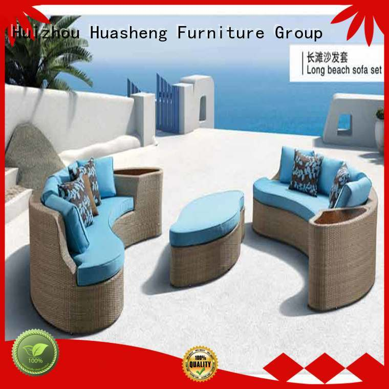 GOJO modern outdoor lounge furniture single bed for holiday hotels