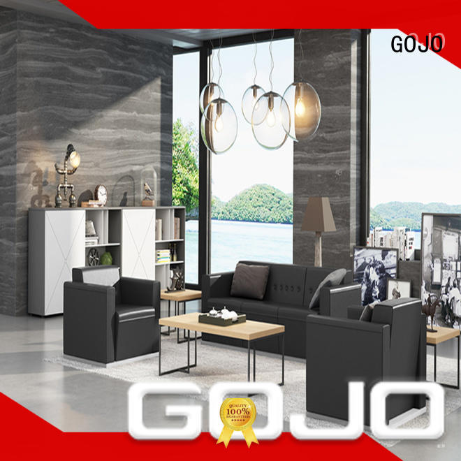 modern sofa and chair set factory for lounge area