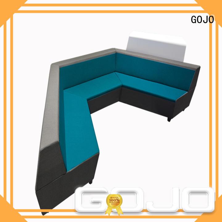 GOJO guanz reception sofa set factory for guest room