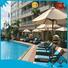 open outdoor lounge furniture sofa set for holiday hotels