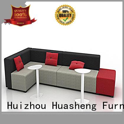 GOJO industrial reception furniture set mdf board for lounge area
