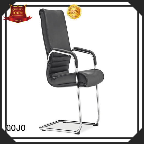 GOJO modern executive boardroom chairs with aluminium alloy feet for boardroom