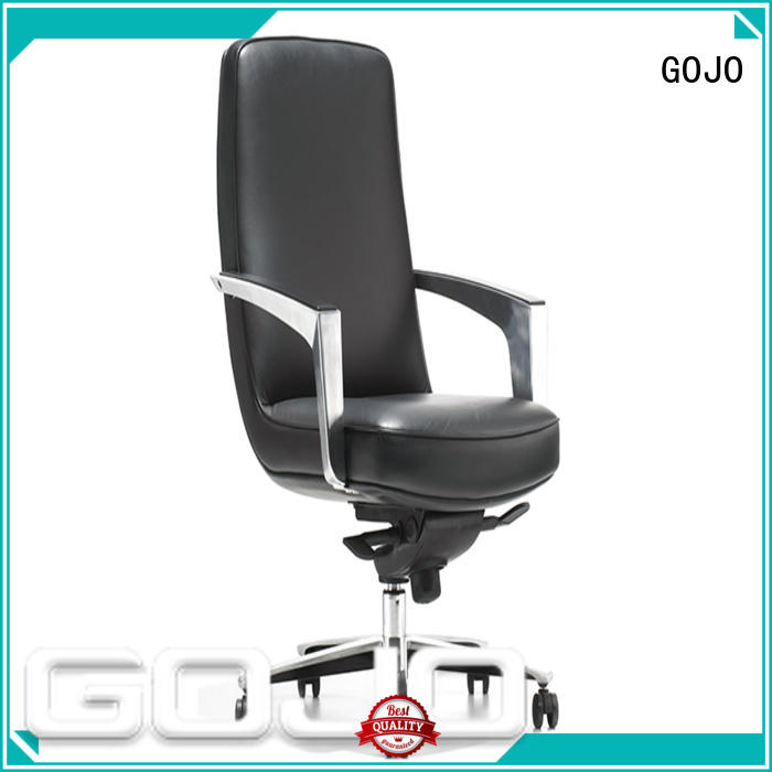 cowhide cheap executive office chairs leather for boardroom GOJO