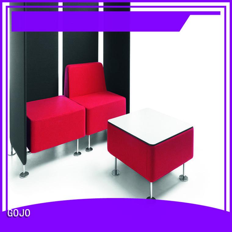 modern reception area chairs mdf board for reception area GOJO