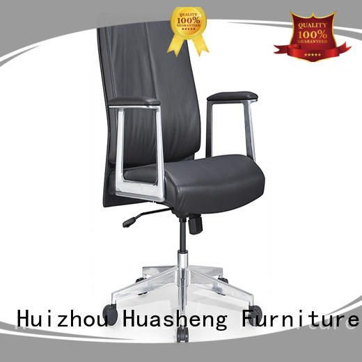 GOJO calvin black leather executive chair with lumbar support for executive office