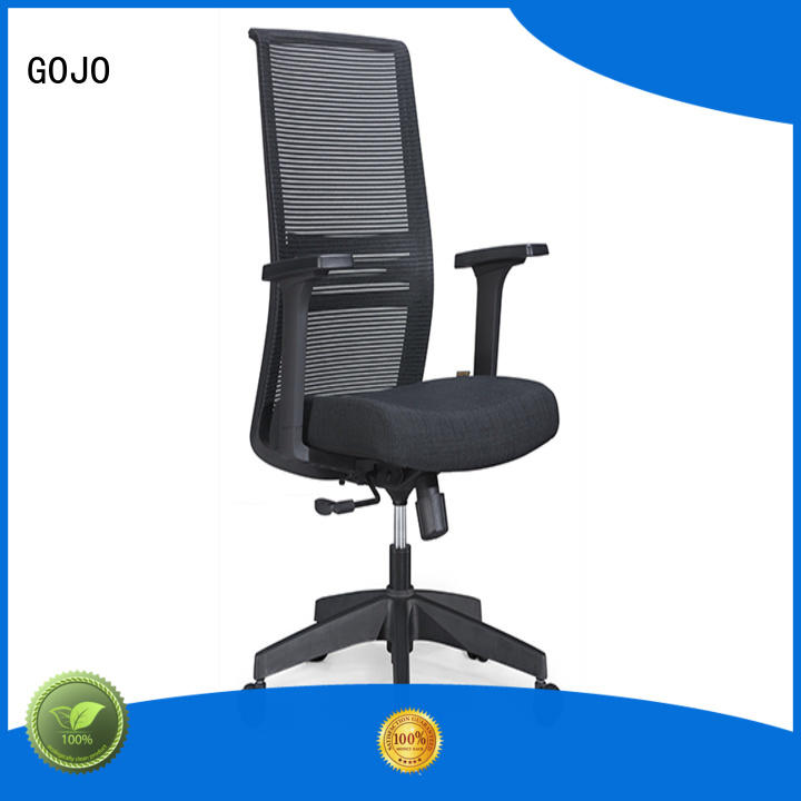 GOJO comfortable swivel office chairs with wheels for business for clerk space