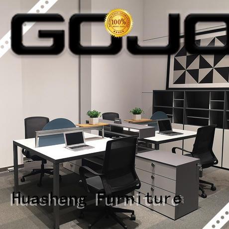 GOJO Custom long narrow office table company for clerk area