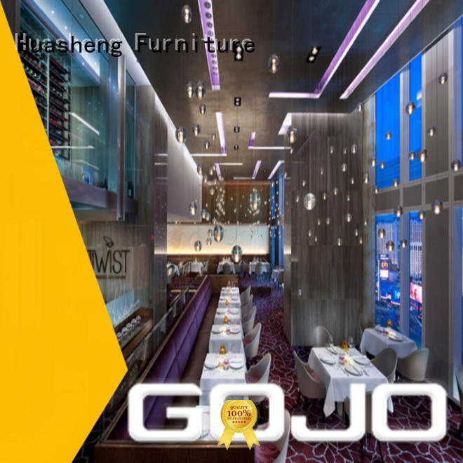 GOJO luxury hotel room chairs superior quality for apartment
