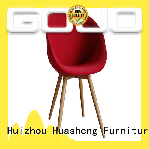GOJO vinyl reception chairs sofa stool for guest room
