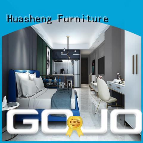 huasheng hotel room furniture for sale manufacturer for apartment