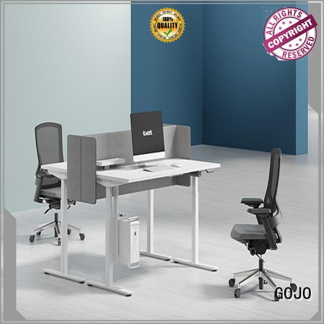 GOJO customized smart office desk sit stand desks for staff room