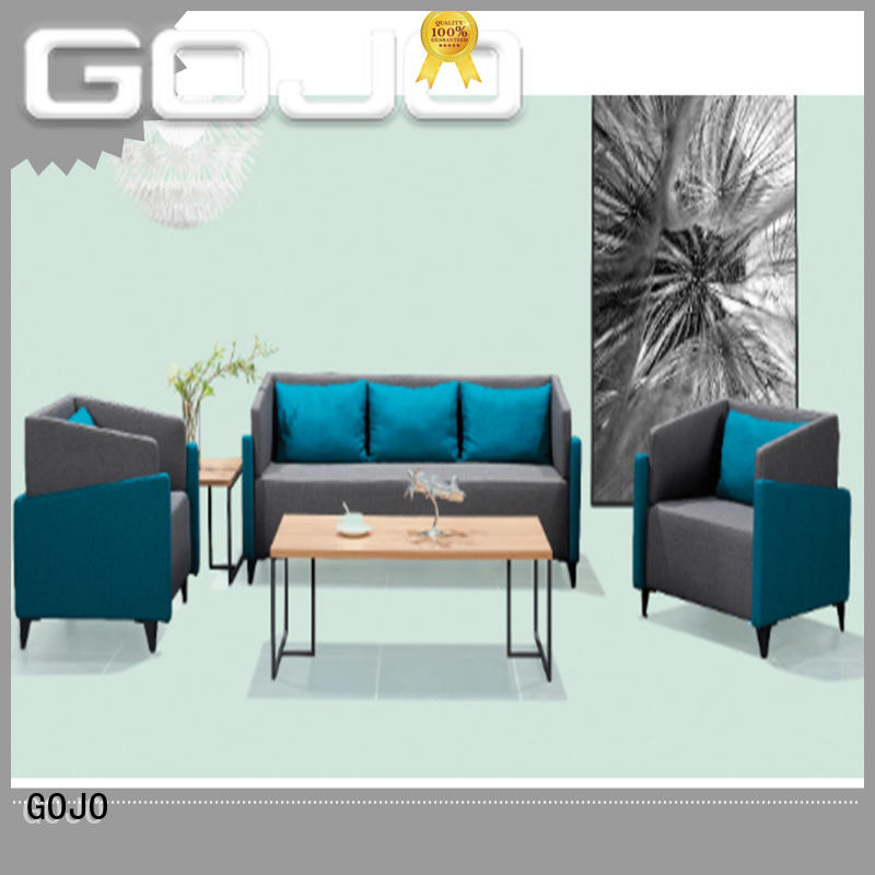 waiting room sofa stools for reception area GOJO