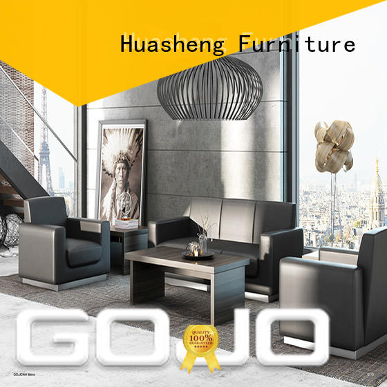 GOJO industrial contemporary waiting room furniture for guest room