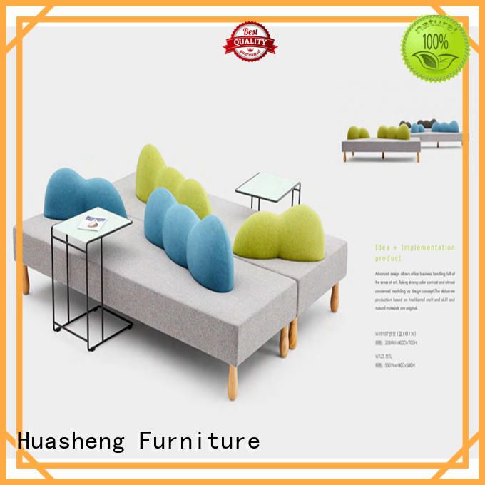 GOJO quiet couch and chair set for business for guest room