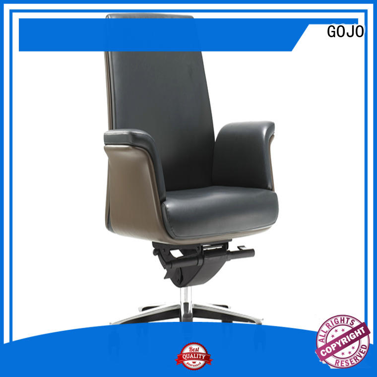 GOJO best executive office chair with new white paint feet for ceo office