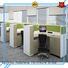 F SHAPE STAFF ROOM OFFICE DESK MODERN OFFICE FURNITURE COLLECTION
