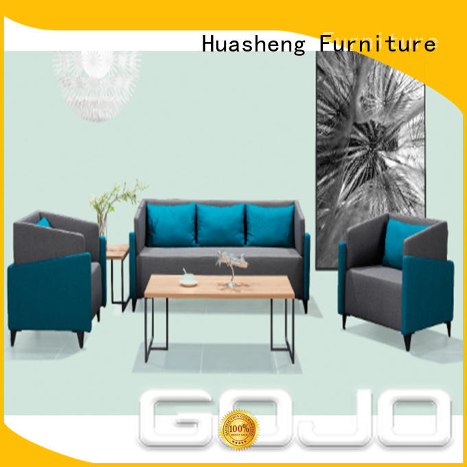 GOJO quiet office sofas and chairs company for reception area