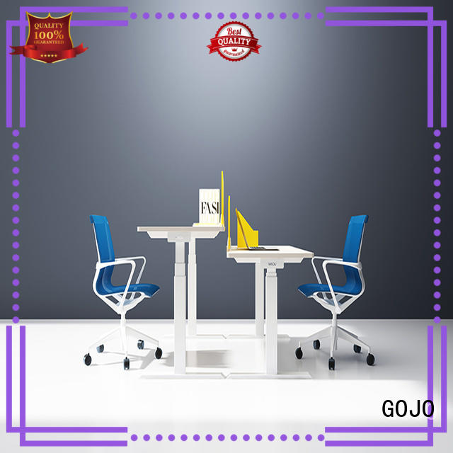 customized contemporary office furniture with receiving box for sale