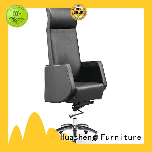 GOJO black task chair with aluminium foot for boardroom