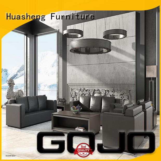 GOJO yihe sofa and chair set stools for reception area