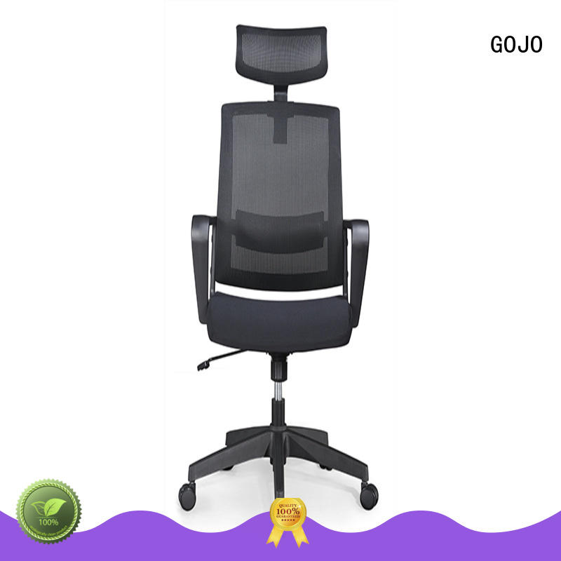 cowhide big and tall executive chair leather for executive office GOJO