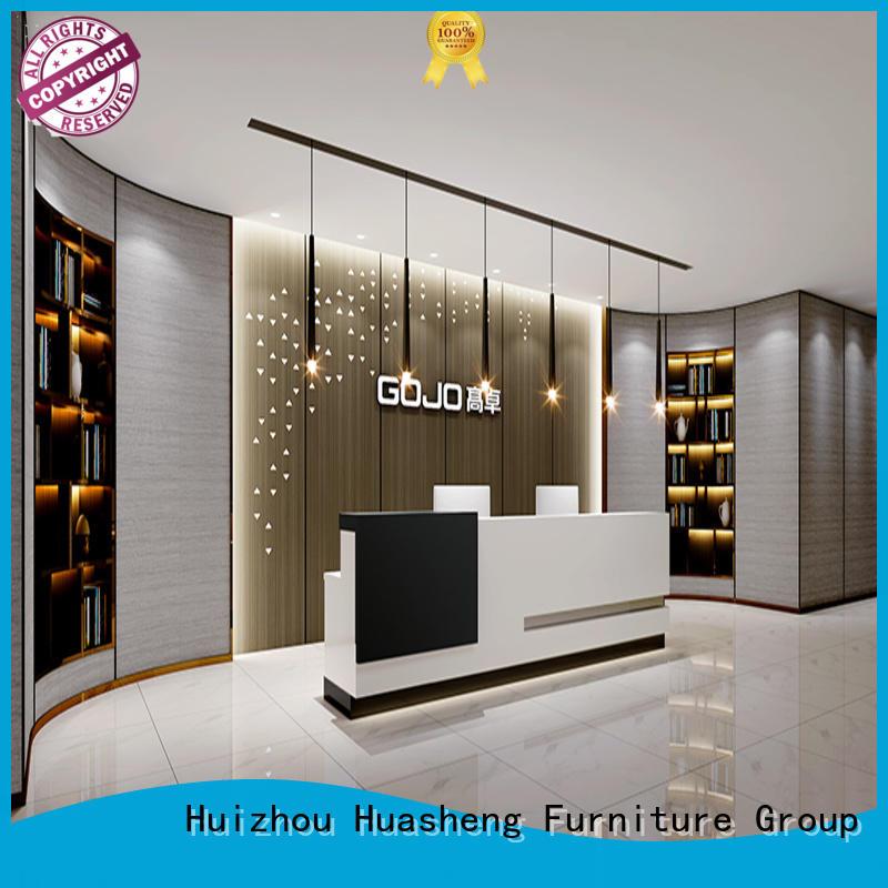 GOJO Top office front desk furniture Supply for sale