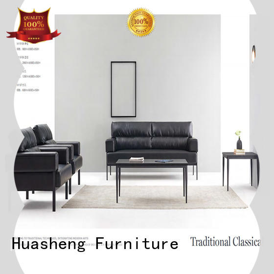 GOJO leather couch set company for guest room