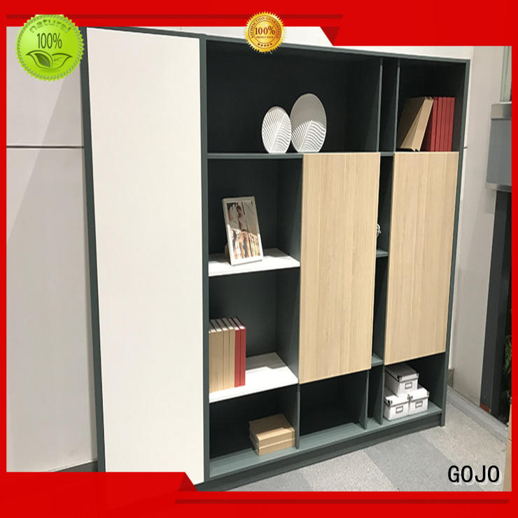 GOJO Latest bookshelf room divider with door for sale