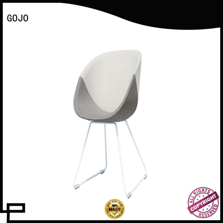 GOJO decorative office waiting chairs for business for bar