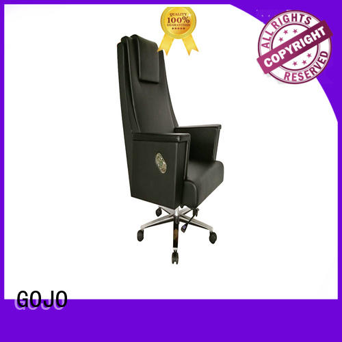 guanz luxury office chair with five-star movable foot for ceo office