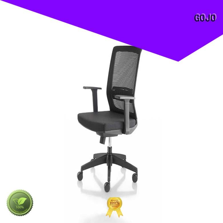 GOJO roomy mesh office chair with aluminium alloy feet for executive office